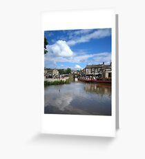 Skipton Bridge Greeting Card