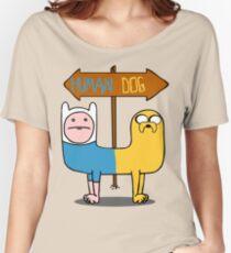 Finn & Jake- CatDog Women's Relaxed Fit T-Shirt