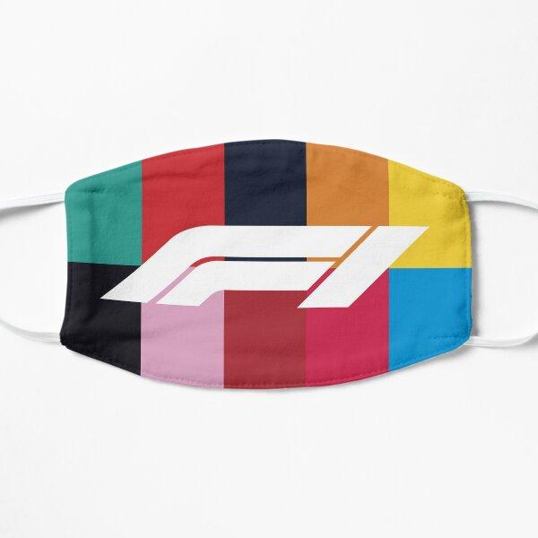 Formule 1 2020 Teams Colours Masque de sport automobile Masque sans plis