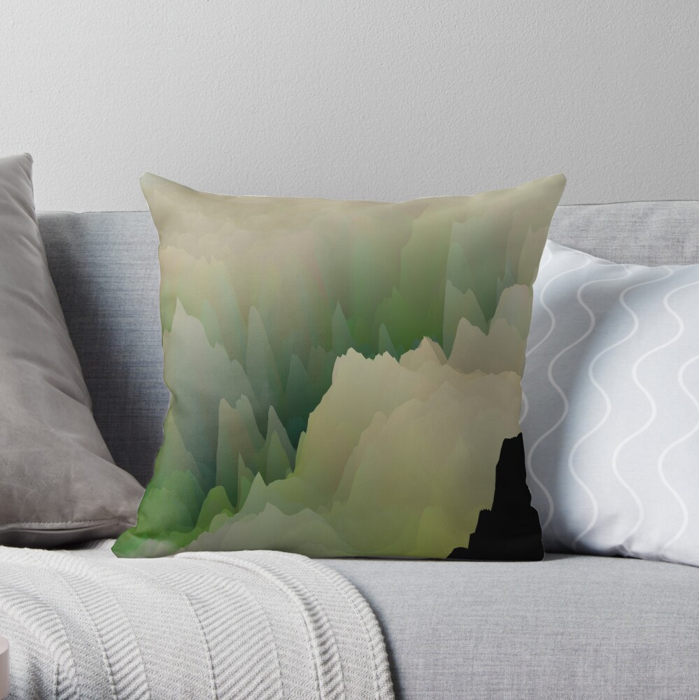 Abstract acrylics patterns Abstract art collection design no. 044 Throw Pillow