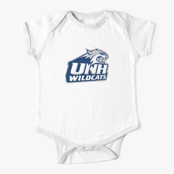 wildcats-UNH Short Sleeve Baby One-Piece