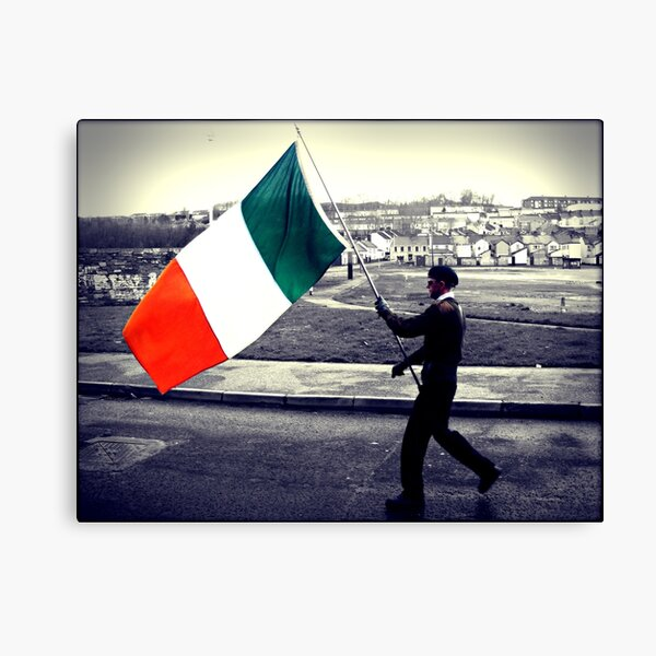 Is Eireannach Me- I am irish Canvas Print