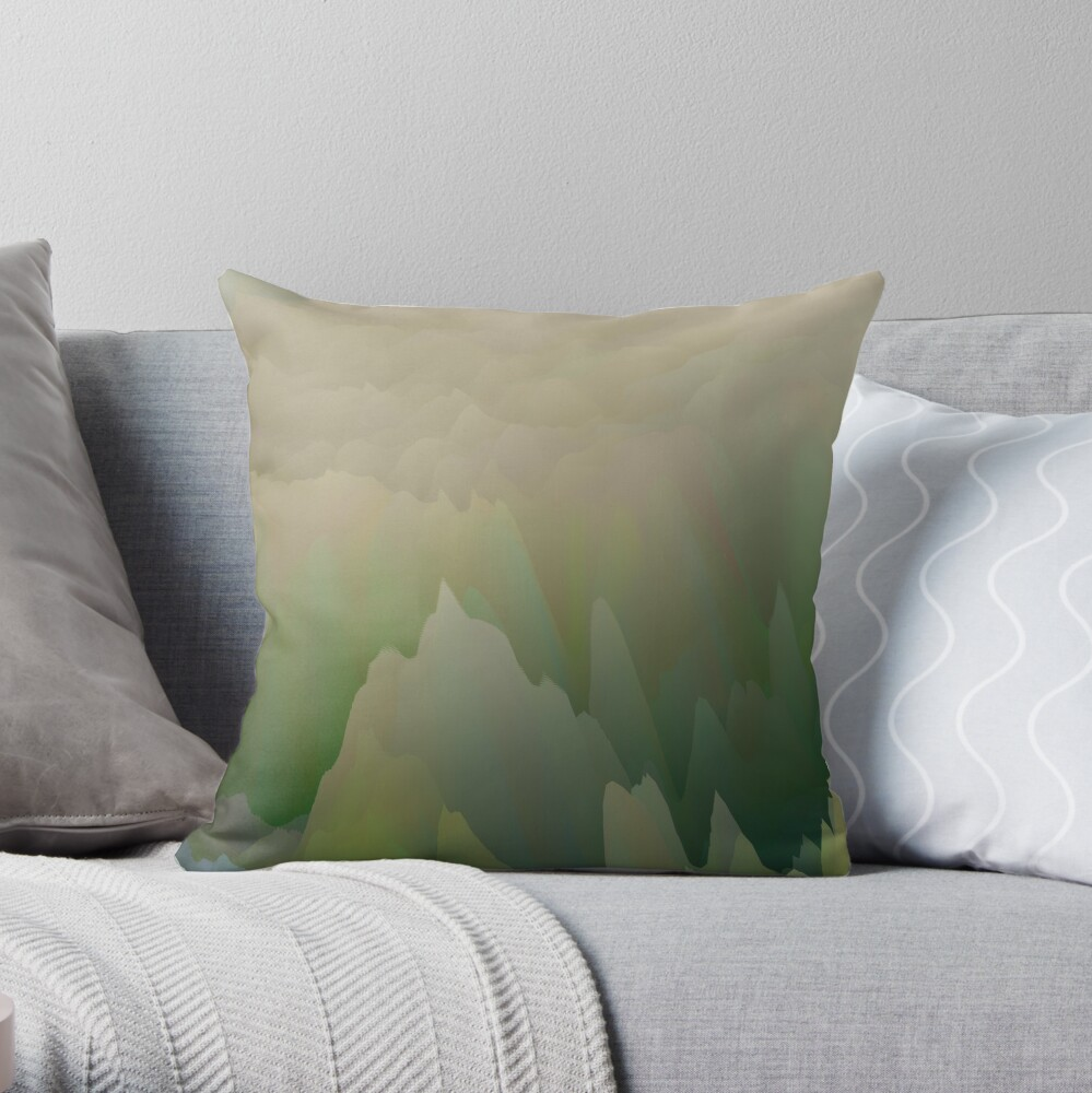 Abstract acrylics patterns Abstract art collection design no. 048 Throw Pillow