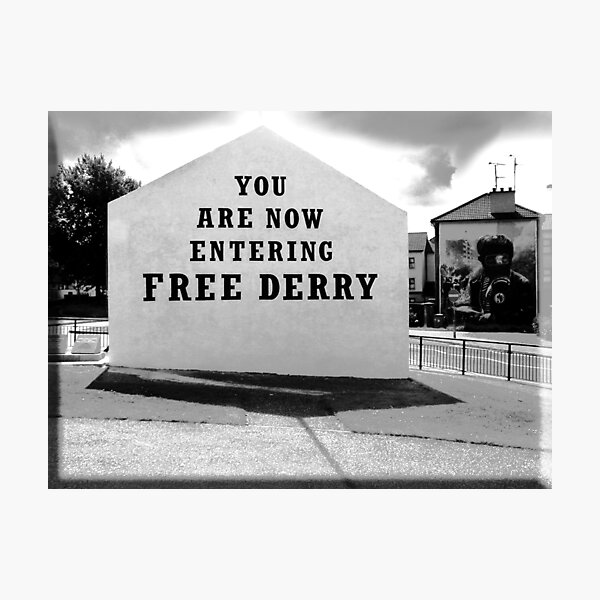 free derry wall Photographic Print