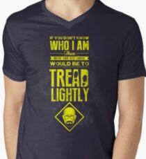 Tread Lightly Men's V-Neck T-Shirt