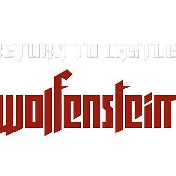 Wolfenstein return to castle logo by Cristianvan