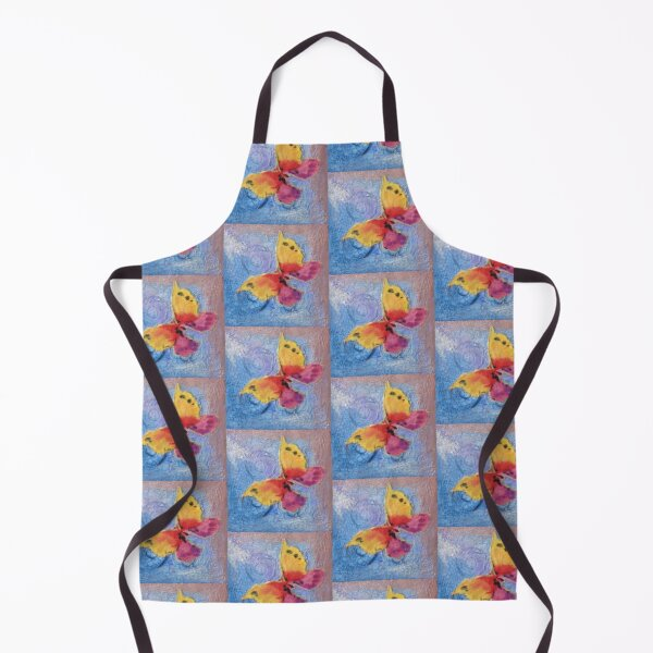 Textured Butterfly Apron