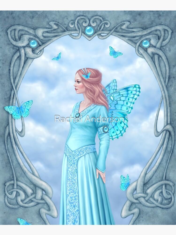 Aquamarine Birthstone Fairy by silverstars