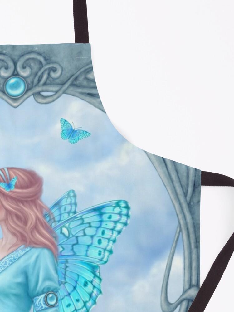 Alternate view of Aquamarine Birthstone Fairy Apron
