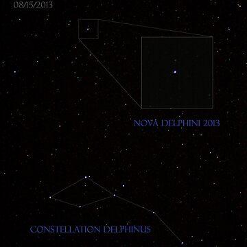 Nova Delphini 2013 by DanielOwens