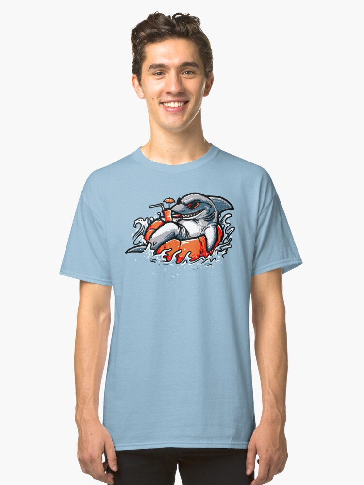 Poolshark Classic T-Shirt Front