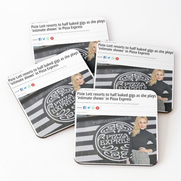 Half Baked Gigs Coasters (Set of 4)