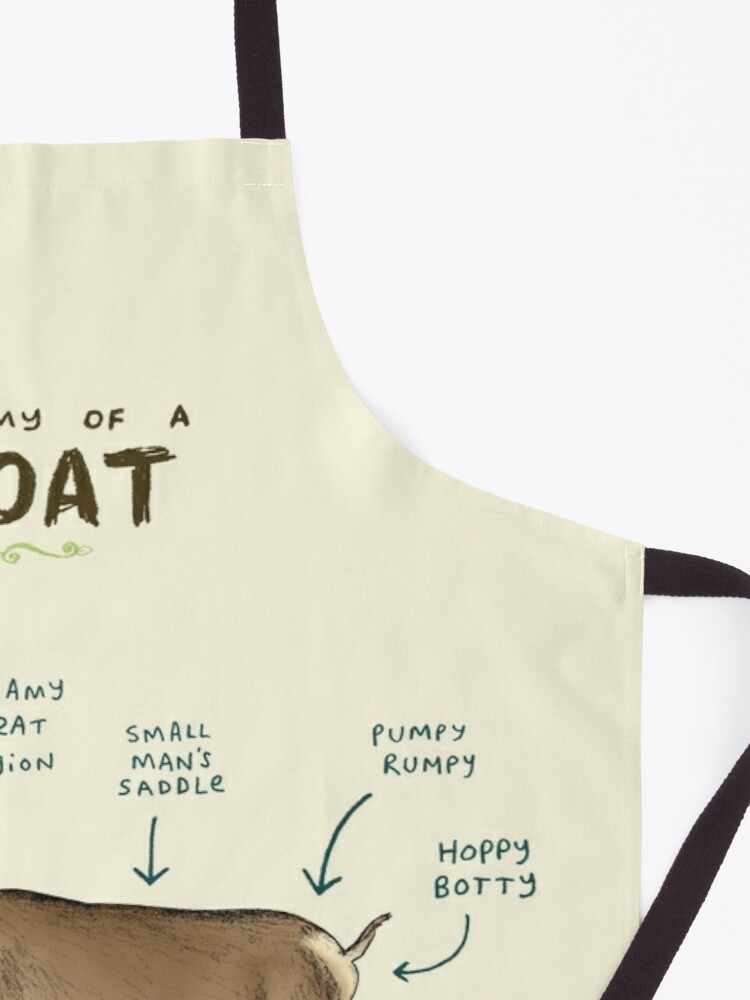 Alternate view of Anatomy of a Goat Apron