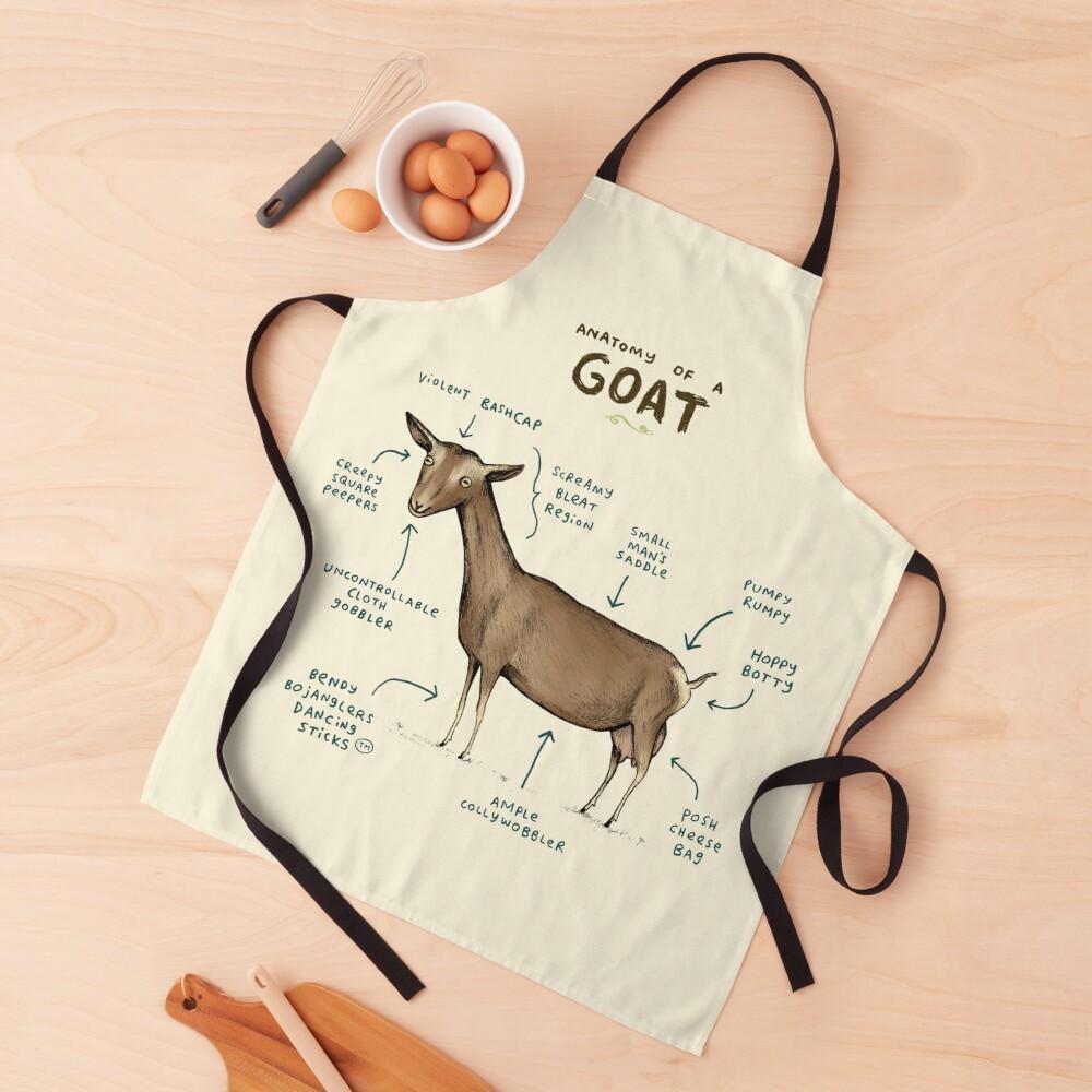 Anatomy of a Goat Apron