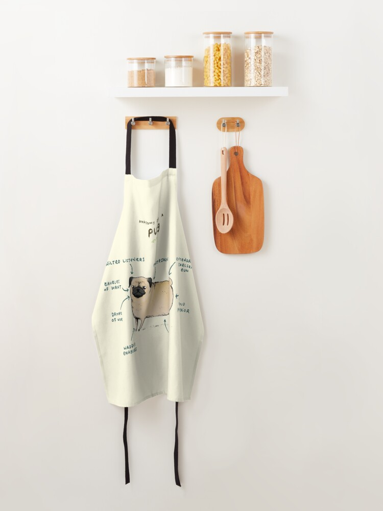 Alternate view of Anatomy of a Pug Apron