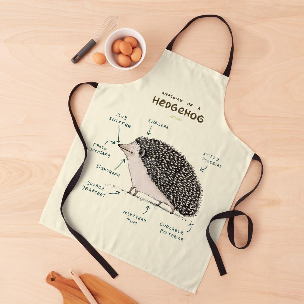 Anatomy of a Hedgehog Apron
