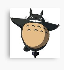 My Neighbour Totoro Funny Canvas Print