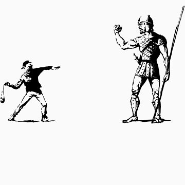 Banksy vs. Goliath by radovansensel