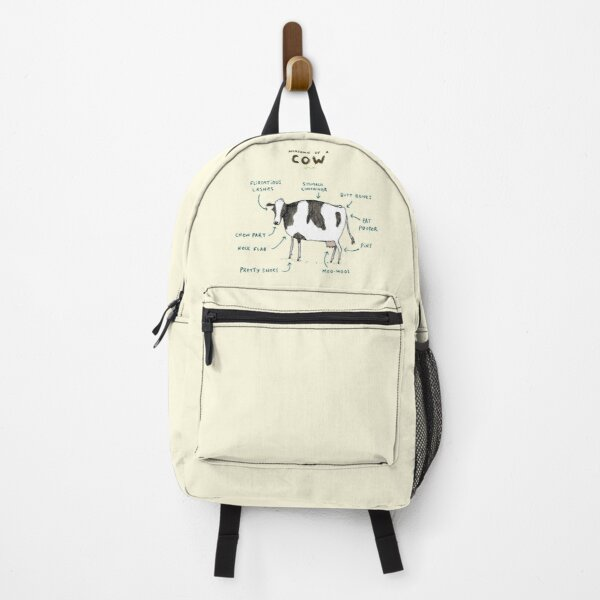 Anatomy of a Cow Backpack