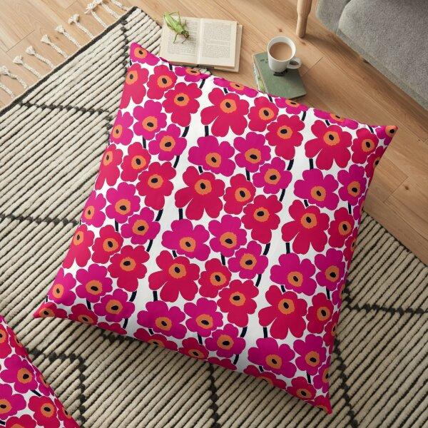 Marimekko Unikko Floral Print Floor Pillow