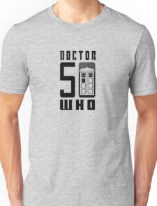 50 YEARS DOCTOR WHO //on light colours// Unisex T-Shirt