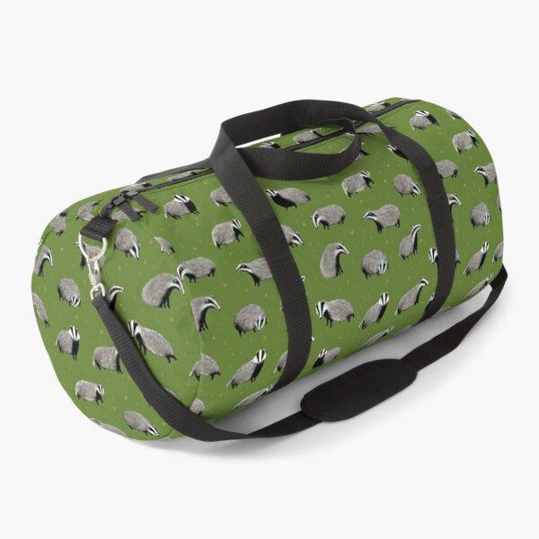 Badger Pattern Duffle Bag