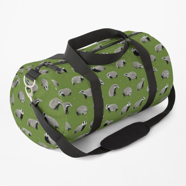 Badger Pattern Duffle Bag