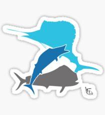 Offshore fishing Sticker