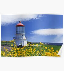 Springtime Lighthouse Poster