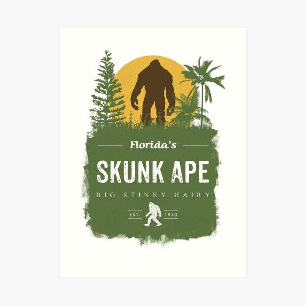 Florida's Skunk Ape Art Print
