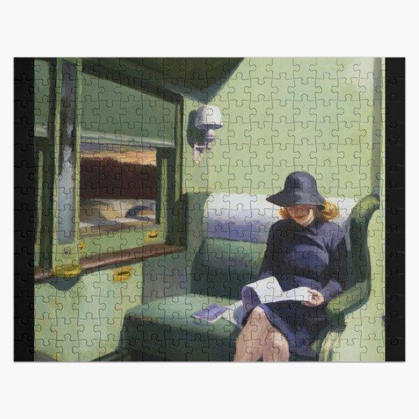 AMERICAN ARTIST. Compartment Car, Edward Hopper. 1938. Jigsaw Puzzle