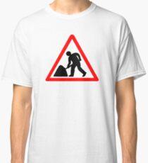 Man at Work Symbol Classic T-Shirt