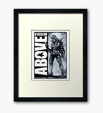 From Above Comic Book 05 Framed Print