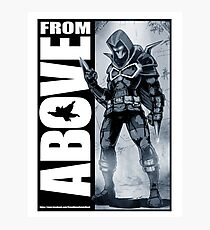 From Above Comic Book 05 Photographic Print