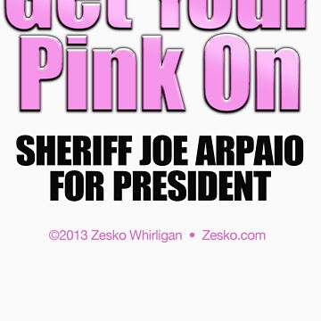 GET YOUR PINK ON by Zesko