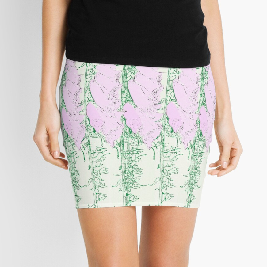 Come in to the Garden Mini Skirt