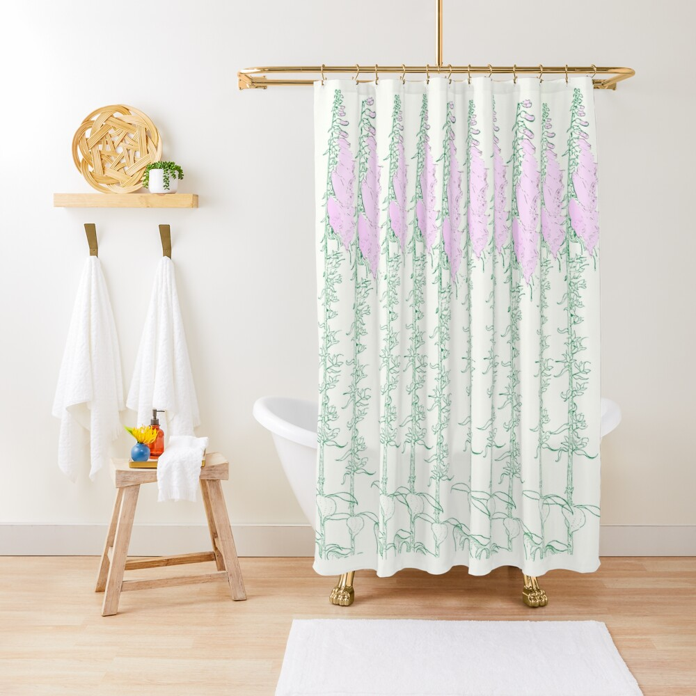 Come in to the Garden Shower Curtain