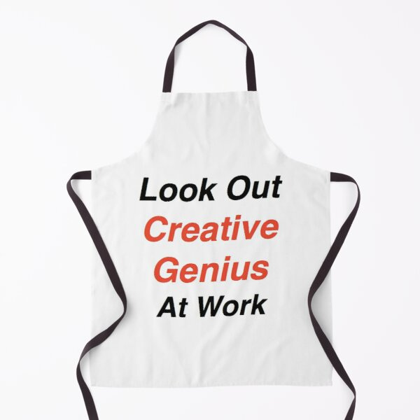 Creative Genius at Work Apron