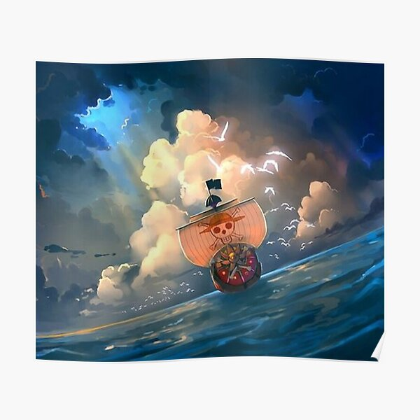 Poster Thousand sunny One Piece Poster
