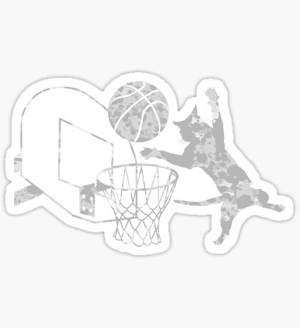 Slam Puss (Grey) Sticker