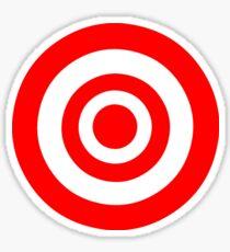 Bullseye Target Sticker
