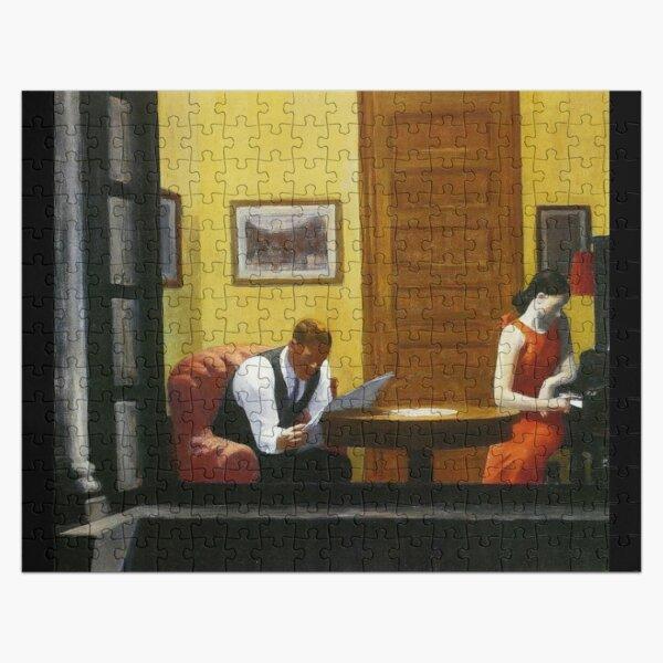AMERICAN ARTIST. Room in New York. By Edward Hopper. 1940. Jigsaw Puzzle