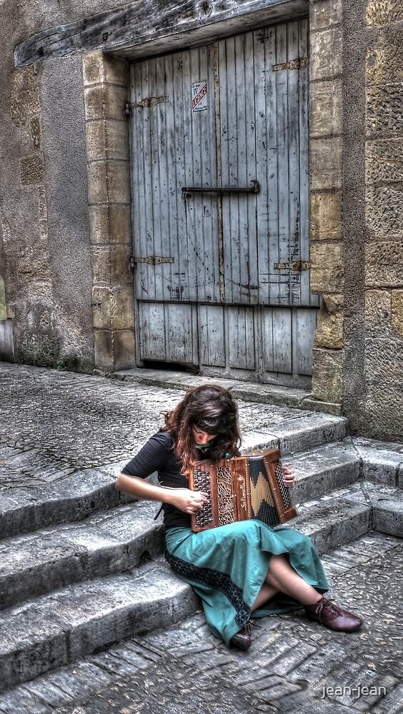 """ L'accordéoniste ... "" by jean-jean"