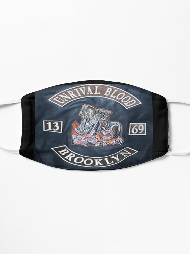 Alternate view of Tank Rivera design #2 Mask