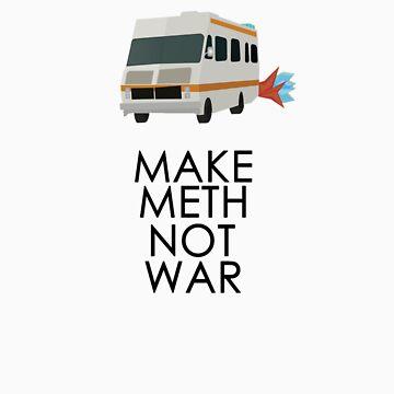 Make Meth Not War - Breaking Bad by Mason1989