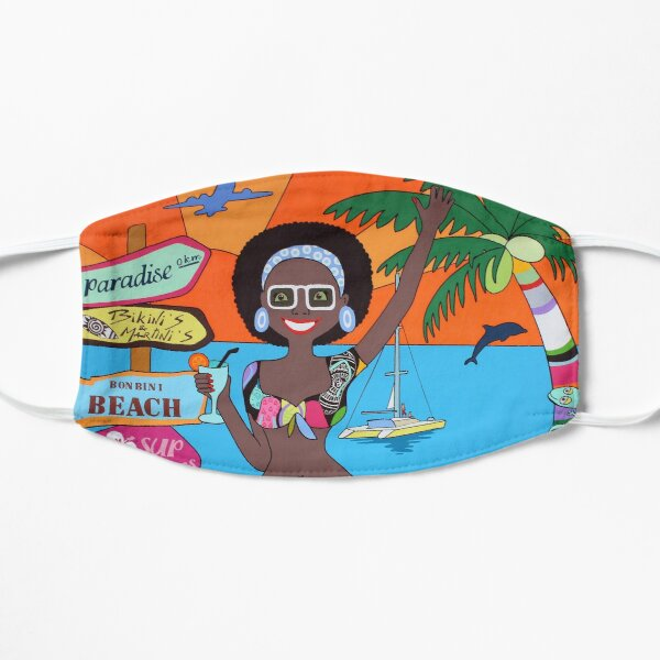 Summer Dushi, caribbean Mask