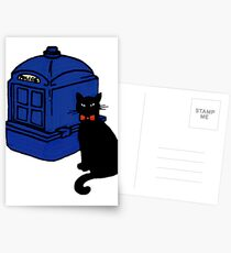 Kitty Who and the T.A.R.D.I.S Postcards