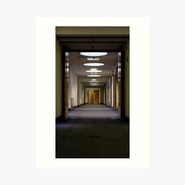 2nd floor corridor Art Print