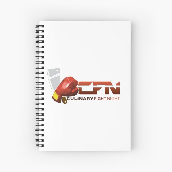 Culinary Fight Night  Spiral Notebook