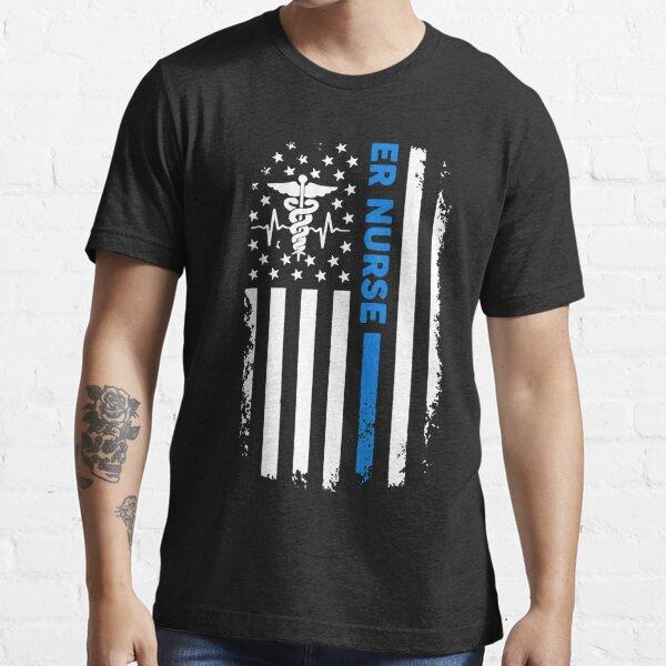 ER Nurse Flag Essential T-Shirt